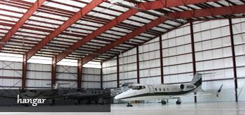 Çelik Konstrüksiyon Uçak Hangarı Yapımı